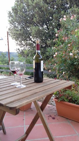 casa tra i vigneti del vino chianti