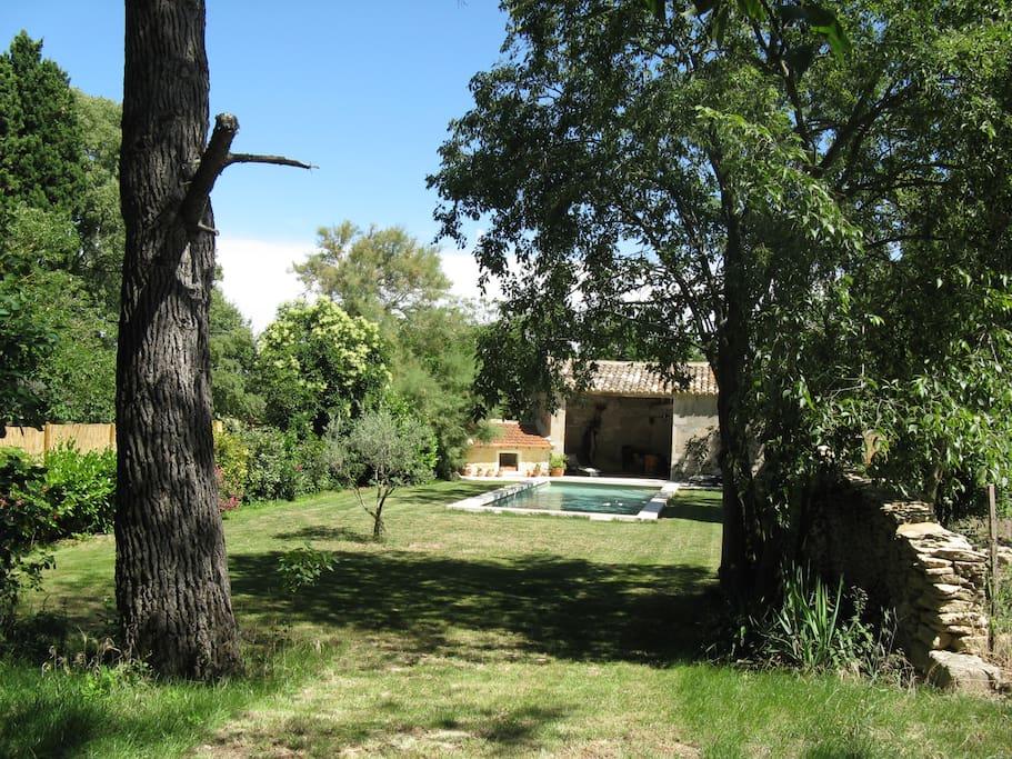 Charmant mas proven al avec piscine maisons louer for Camping saint remy de provence avec piscine