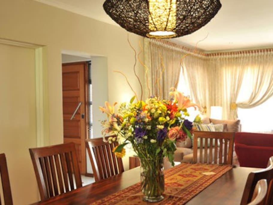 Dining room where our scrumptious breakfast is served