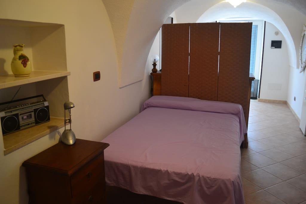Stanza principale dove eventualmente verrà aggiunto un letto singolo per una terza persona