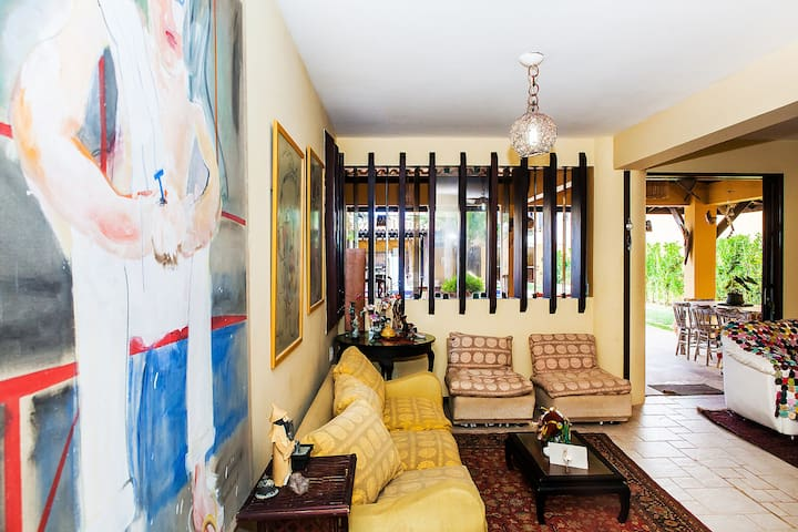 room in villa 60 m from the sea - Lauro de Freitas - House