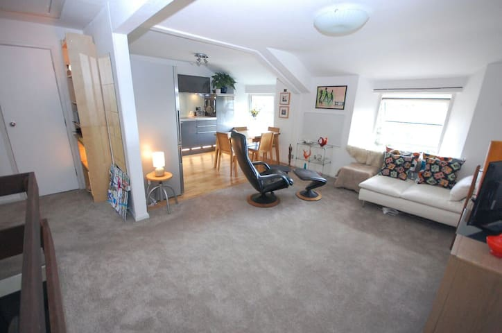Private room in loft apartment - Teignmouth - Leilighet