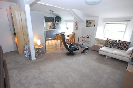 Private room in stylish apartment - Teignmouth