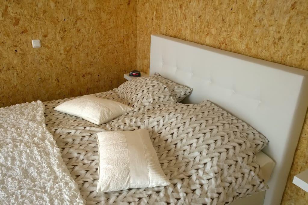 bedden van slaapkamers 1 + 2