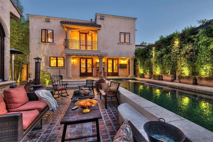 Luxurious Tuscan Villa  Near Cedars-Sinai