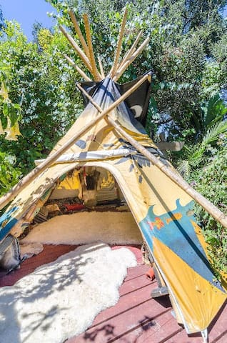 Just added - Lounge Teepee for Hanging out!