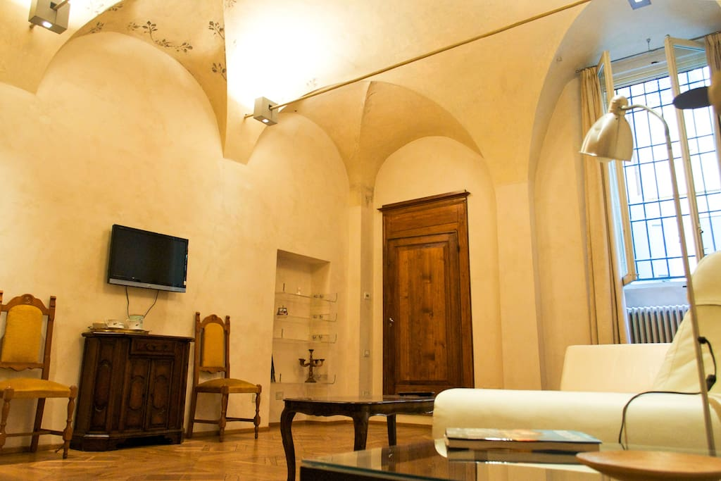 Living Room - Santo Stefano Luxury Apartment