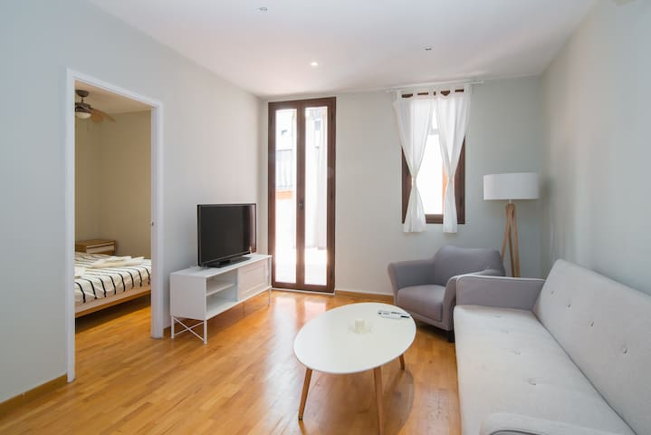 L'illa Charming 1BR Flat w/Terrace - Barcelona - Departamento