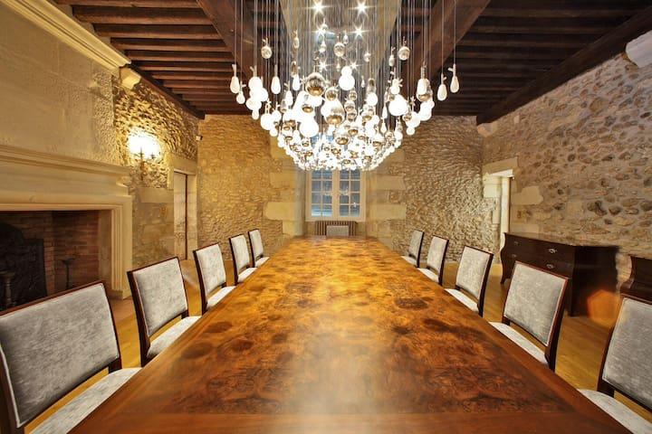 Luxury chateau in the Dordogne - Saint-Geyrac - Villa