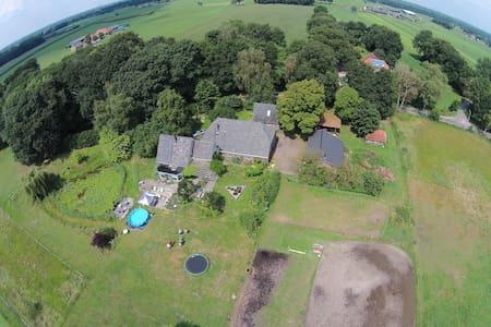 huisje grenzend aan landgoederen - Lochem - House
