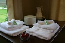 Big comfortable towels!