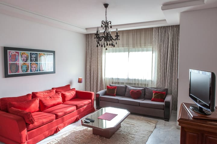 Airy 2BR flat Tunis - Berges du Lac - Tunis - Apartment