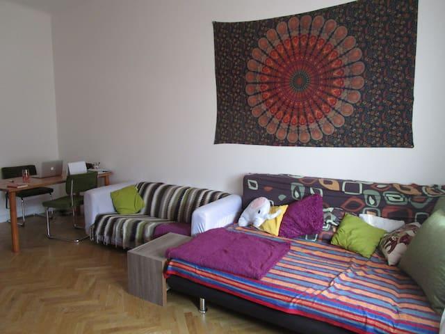 bright flat in vienna near danube 10mins to center - Vienna - Departamento
