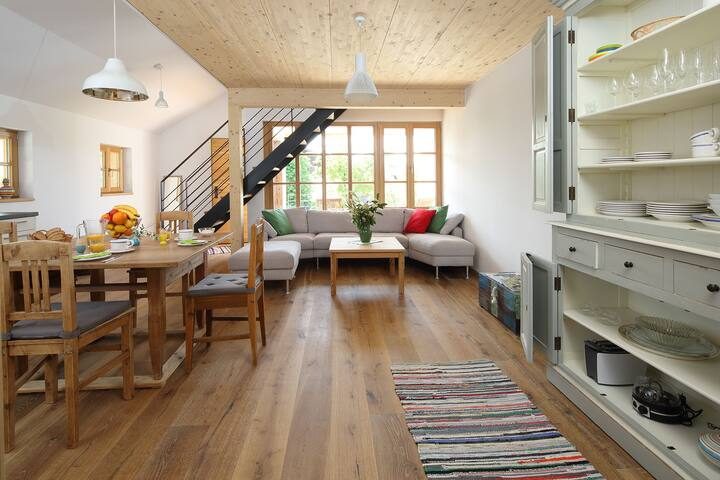 """Am Backhäusl"" Biohof beim Schmied im Chiemgau - Traunreut - Apto. en complejo residencial"