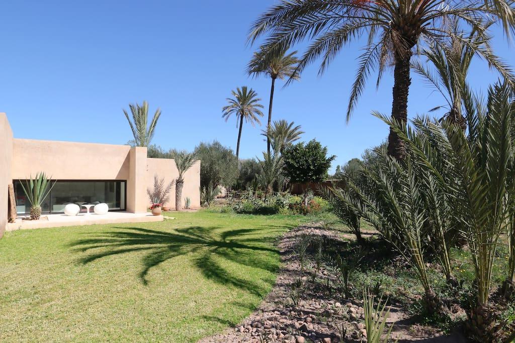 amazing villa h user zur miete in marrakesch marrakesch tensift el haouz marokko. Black Bedroom Furniture Sets. Home Design Ideas