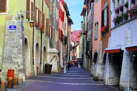 Charmant studio pour couple - Annecy - Apartmen