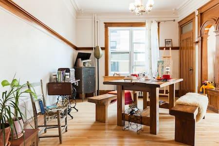 Quebec, chambre cosy avec velos - Quebec City