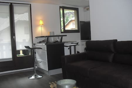 Lovely studio center of St Gervais - Apartment