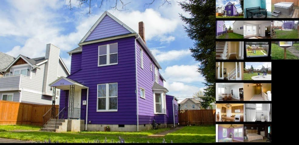 Purple Palace-Pink Lady Room - Tacoma - House
