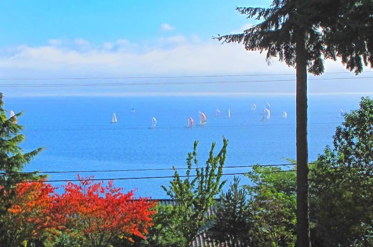Sunrise Studio Apt. w/Amazing View - Bainbridge Island