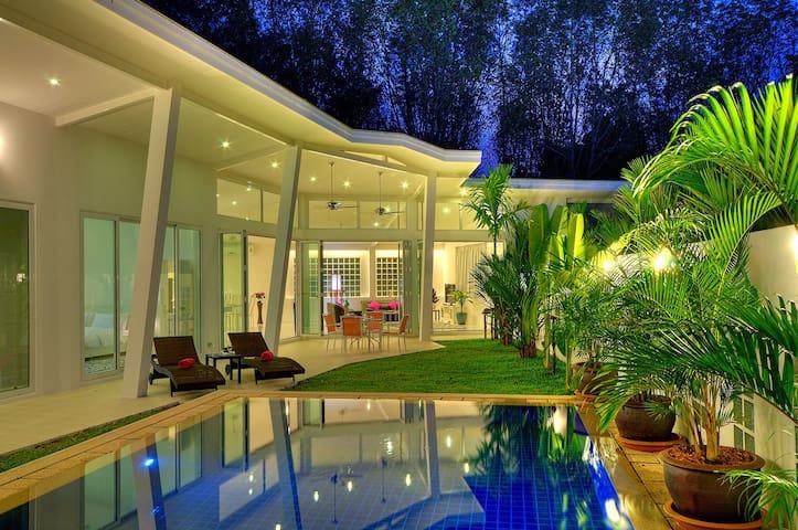 Katty Village Architect Villa - phuket - 別墅