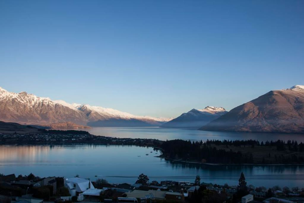 View from balcony at Remarkables Residence, Queenstown