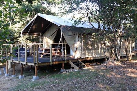 Safari tente tout confort Auvergne - loubeyrat
