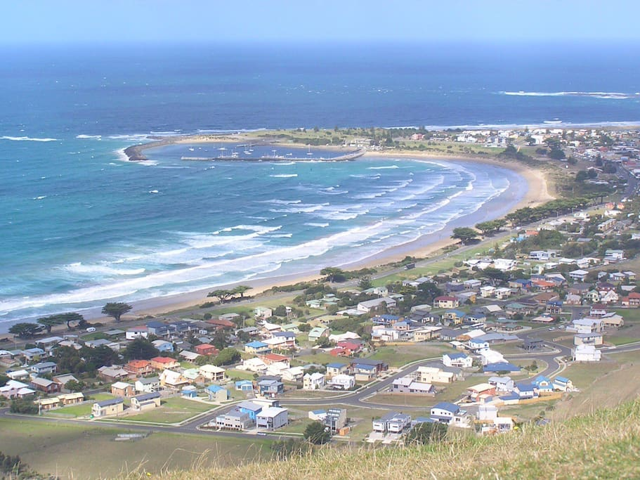 View from Mariners Lookout a must to do when you visit