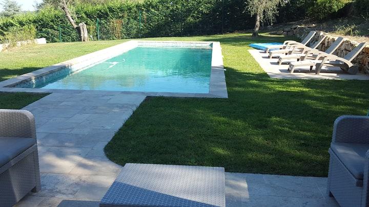 Pool house privatif ,calme et indépendant.