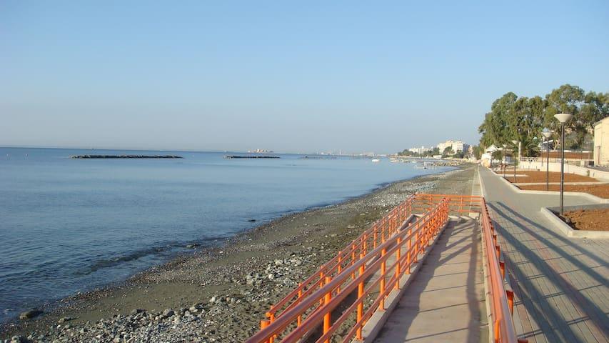 3 Bedroom Flat By The Sea. Limassol - Limassol - 公寓