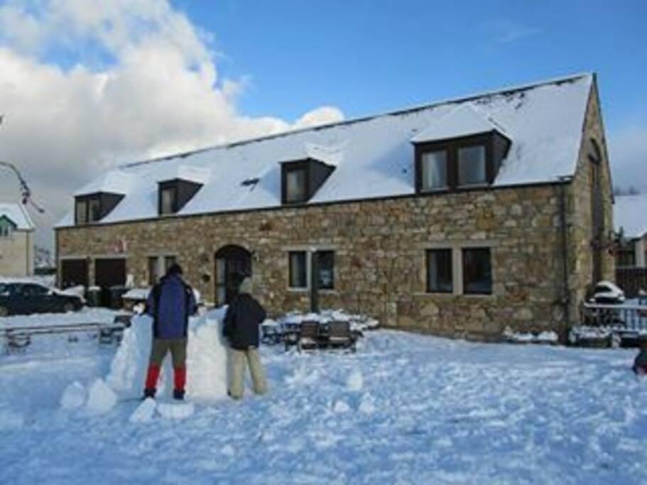 Muirhead in winter...