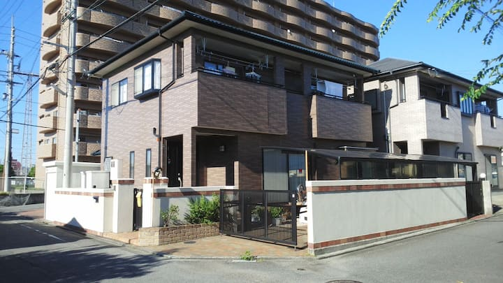 8 minutes on foot from Matsuyama JR Station.
