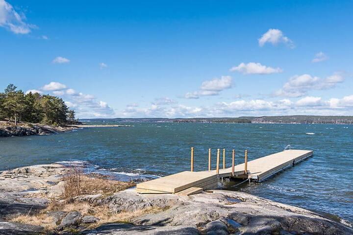 Wonderful Seaview at Zarah Leanders Lönö