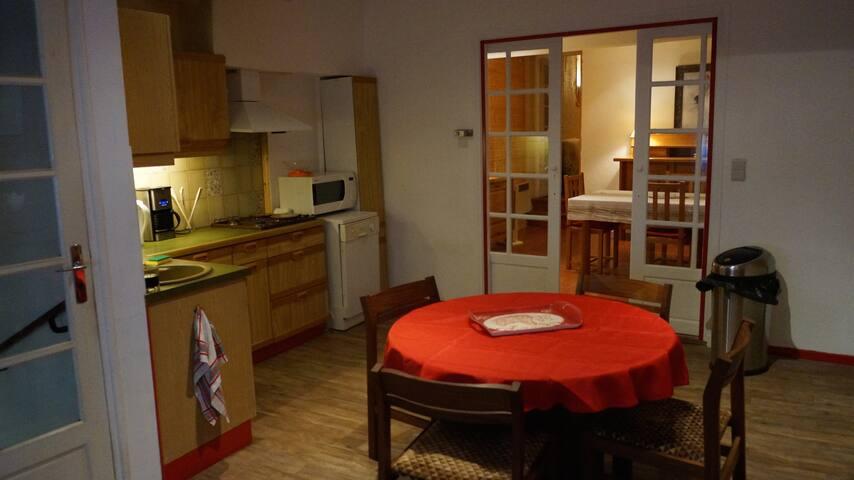 Für 2 bis 5 Leute Schönes Haus Centrum Riveslates - Rivesaltes - Casa