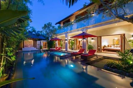 three-bedroom villa in bali