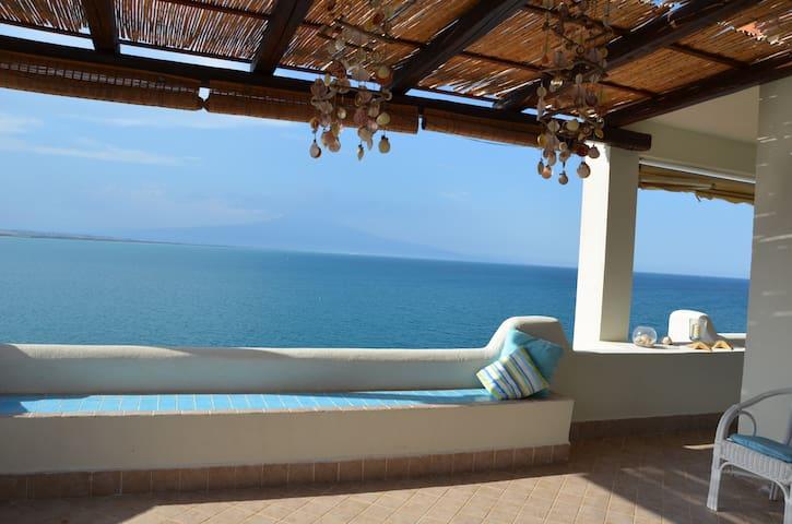 Casa Azzurra - Costa Saracena - Castelluccio - Apartment