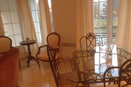 Appart Penthouse 3 chambres terrace - Pont-Sainte-Maxence - Linna