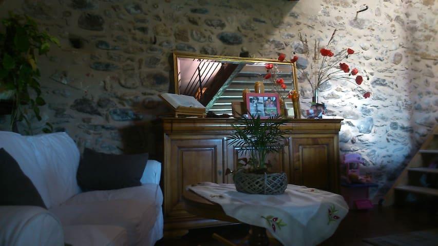 Spacieux soigné et confortable - Latour-de-France - Huis