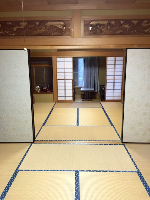 One of our Private Japanese room. 和室。