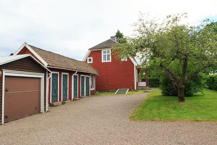 Hus, Verkstadsgatan 7, Hjo centralt - Hjo - House