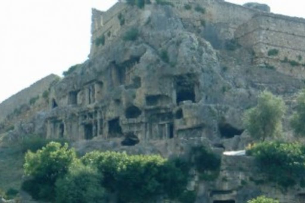 Tlos Tombs - 15 minutes from apartment