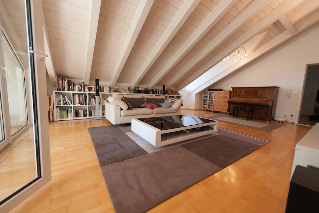 starnberger see schicke wohnung g stesuiten zur miete in feldafing bayern deutschland. Black Bedroom Furniture Sets. Home Design Ideas