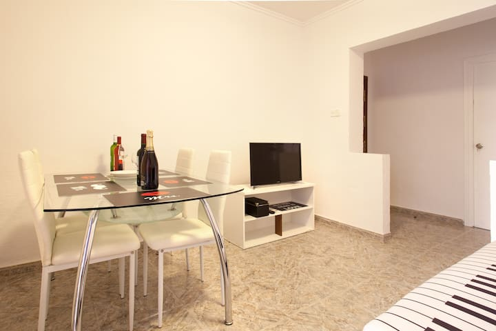 Nice flat with terraze, and barbacue and wifi - Cartagena - Apartment