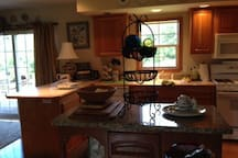 Access to a lovely kitchen.