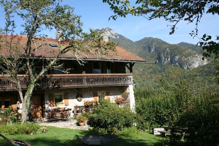 Charme et confort à la montagne - La Baume