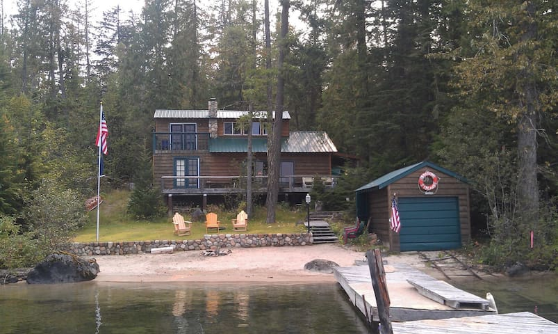 Family Priest Lake Waterfront - Coolin - Cabin