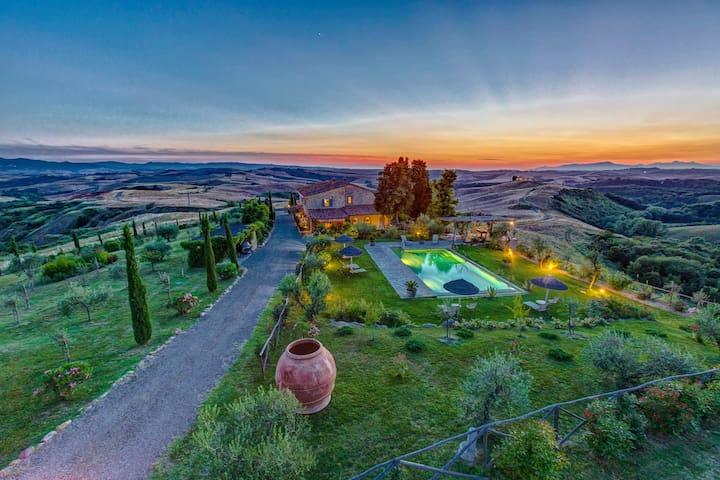 La Costia: 117368 - Volterra - Villa