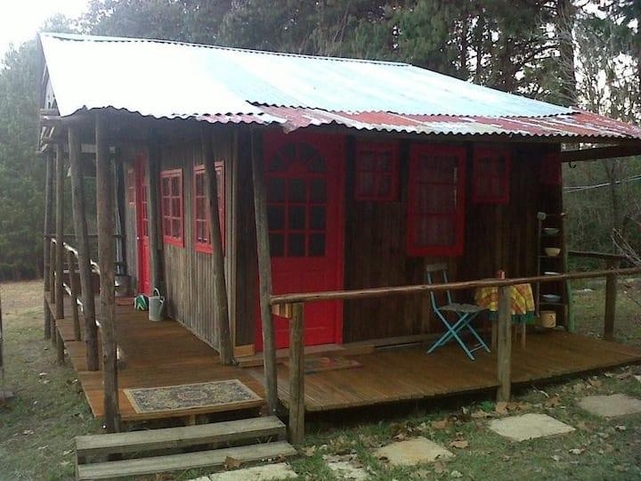 Rustic Cabin on Midlands farm - 2 bedroom cabin