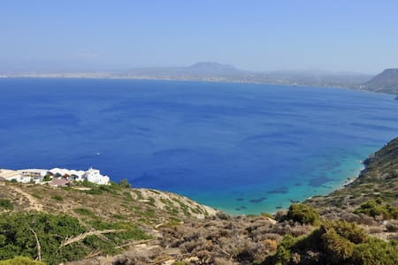 House with amazing sea view - Agia Pelagia