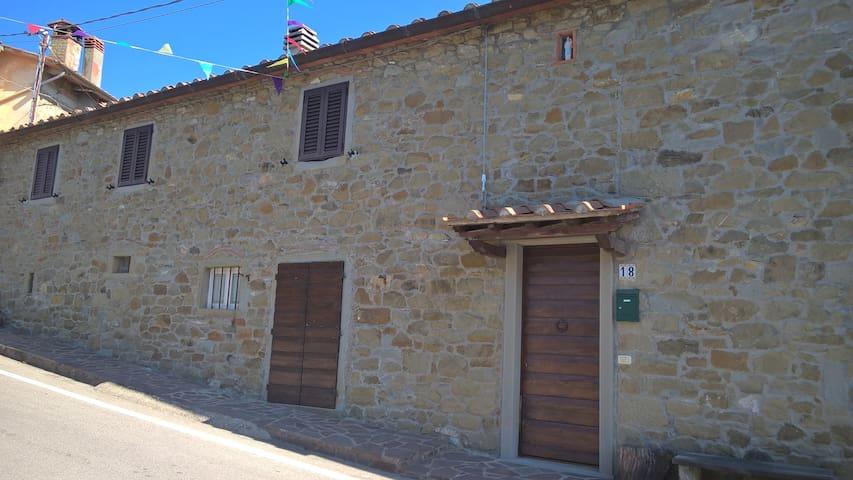 Casa en  Toscana - Arezzo - Bibbiano - Bed & Breakfast